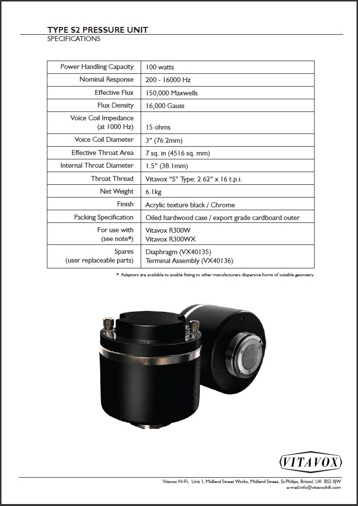 Vitavox S2 (2011 production) Specs.JPG